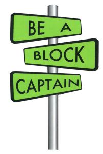 Be a Block Captain